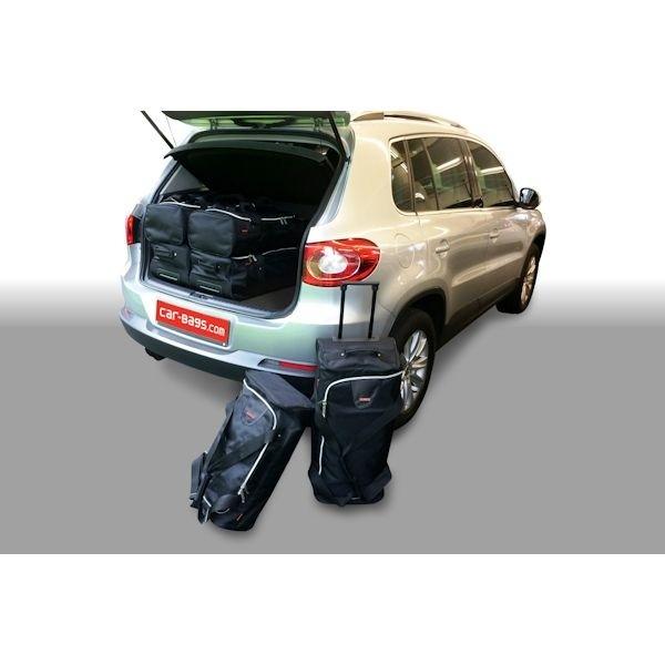 Car Bags V12801S VW Tiguan SUV Bj. 07-15 hoher Ladeboden - Reisetaschen Set