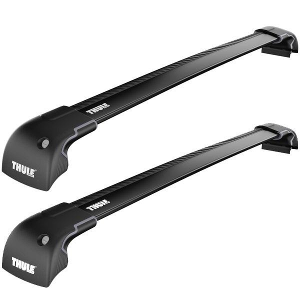 THULE 9596 B WingBar Edge Black Fixpunkte oder integ. Dachreling Länge L/XL  - B-WARE - 2. WAHL