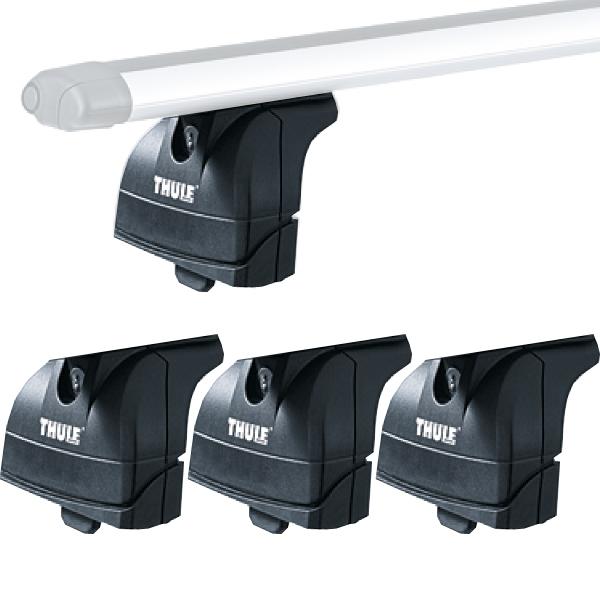 THULE 753 Rapid Fixpunkt XT LOW Fußsätze für Dachträger