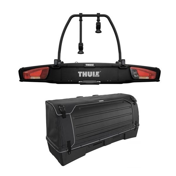 THULE 938 VeloSpace XT 2 Fahrradträger black Set inkl. 9383 Heckbox