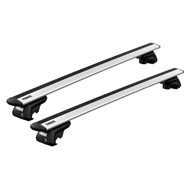 Dachträger Chrysler Town & Country 5-T MPV 95-05 Reling THULE Alu Evo