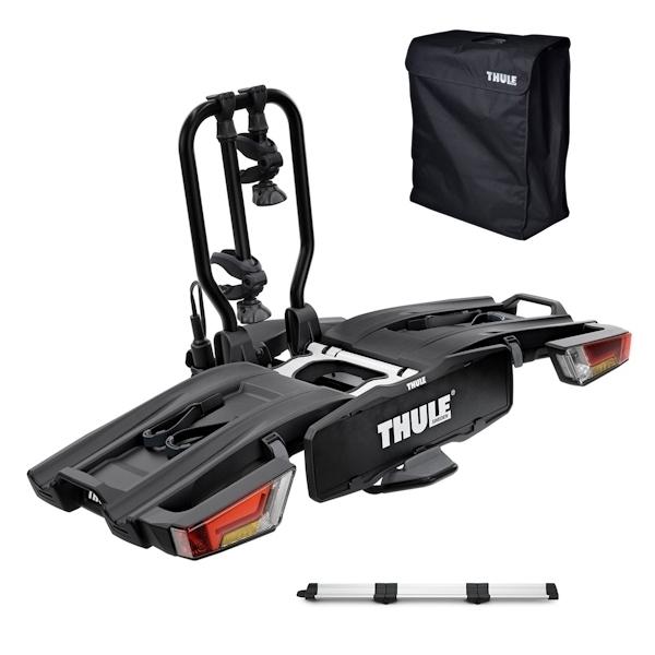 THULE 933 EasyFold XT 2 Fahrradträger black inkl. Rampe und Tasche