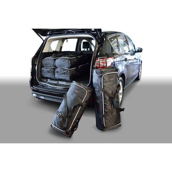 Car Bags F10801S Ford S-Max II (3. Sitzreihe eingeklappt) Bj. 15- Reisetaschen Set