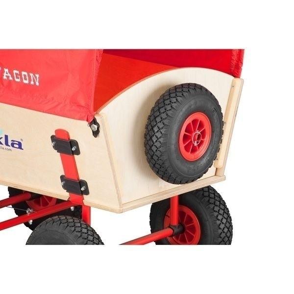 ECKLA Ersatzrad mit Halterung 77834 für ECKLATRAK Bollerwagen PS-Reifen