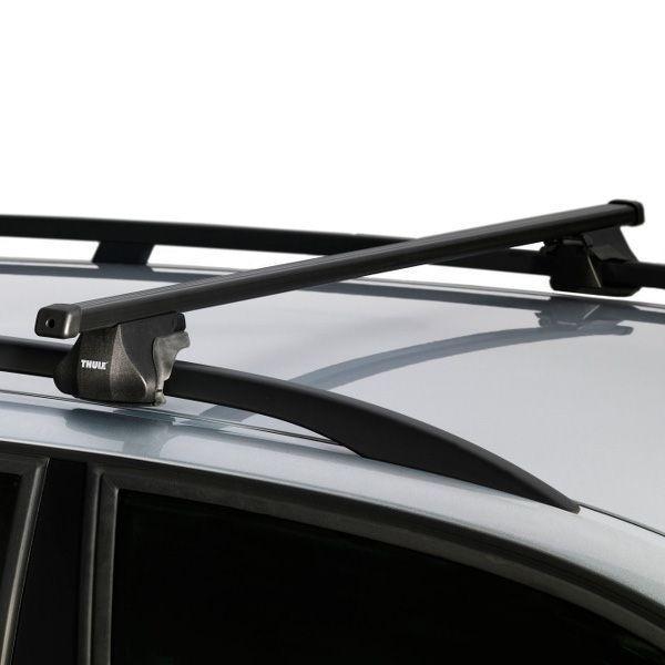 Universaler Aluminium Dachtr/äger an offene Dachrelinge 120 cm T-Nut 20 mm hochwertig