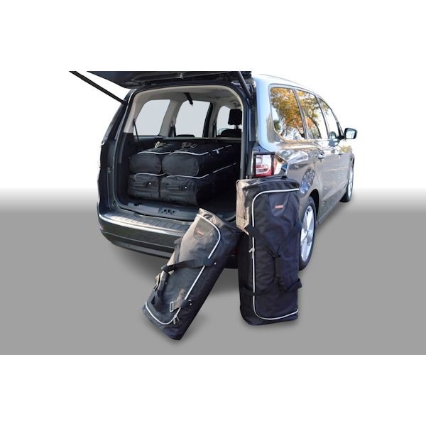 Car Bags F10901S Ford Galaxy III (3. Sitzreihe eingeklappt) Bj. 15- Reisetaschen Set