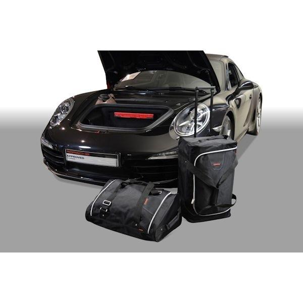 Car Bags P20501S PORSCHE 911 (Typ 991) 2WD Coupe / Cabrio / Targa Bj. 11-18 Reisetaschen Set