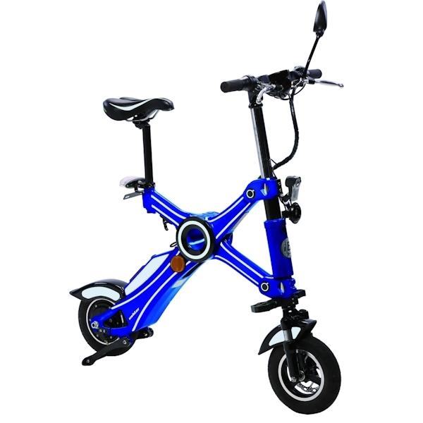 UEBLER E-Scooter 21050 faltbar in blau