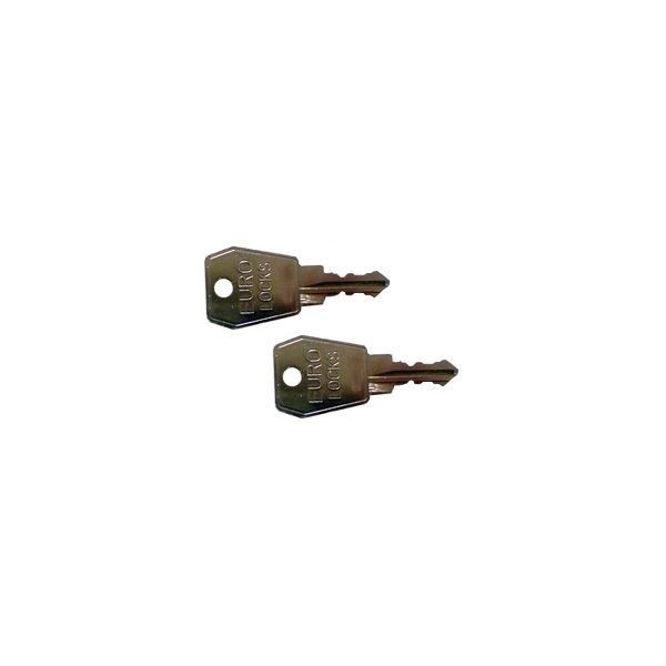 KAMEI Schlüssel Nr. 25514 für Dachbox (2 Stück)