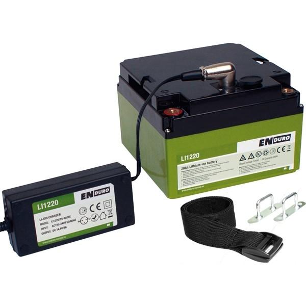 ENDURO Lithium Ionen Akku Batterie 20Ah LI1220 Energy Set 11816