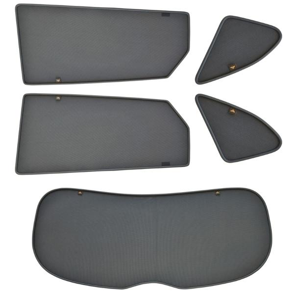 Sonnenschutz Set Magnetisch Mazda CX-5 2012-2017 m. Aussparung Heizung Hecksch. Trokot MAZ-1445-10