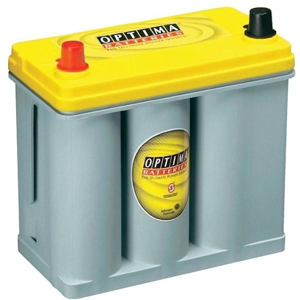 OPTIMA 38 Ah Batterie Yellow Top YT S 2.7