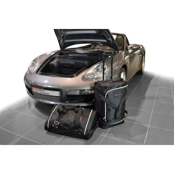 Car Bags P20901S PORSCHE Cayman Boxster (987) Bj. 04-12 m. CD-Wechsler Reisetaschen Set