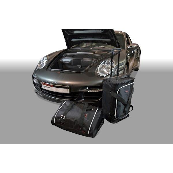 Car Bags P20701S PORSCHE 911 (Typ 997) Coupe / Cabrio Bj. 04-12 m. CD-Wechsler Reisetaschen Set