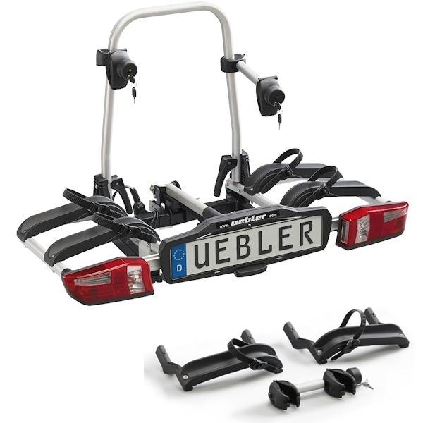 UEBLER P22 S Fahrradträger 15800 mit 90° Abklappung 3 Räder 2+1