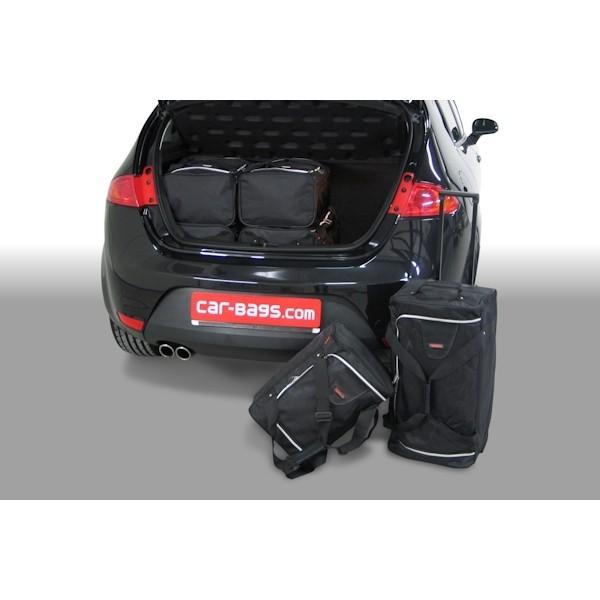 Car Bags S30201S Seat Leon 3/5T. Bj 05-09 09-12 Reisetaschen Set