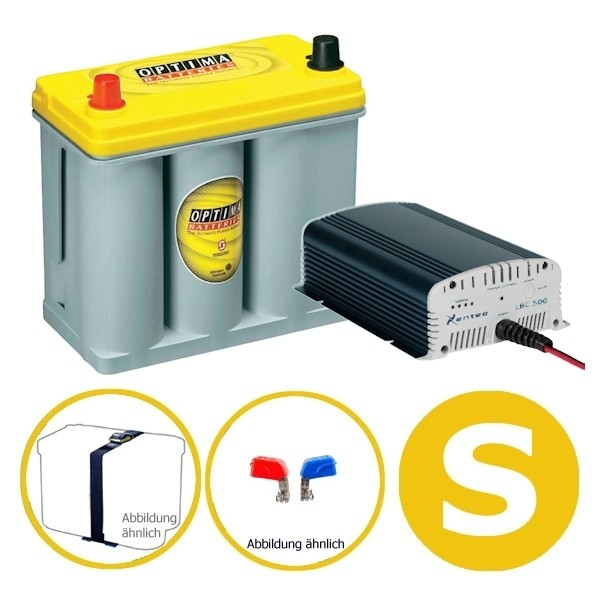 Power Energy Set 38 Ah YELLOW S Optima Xenteq
