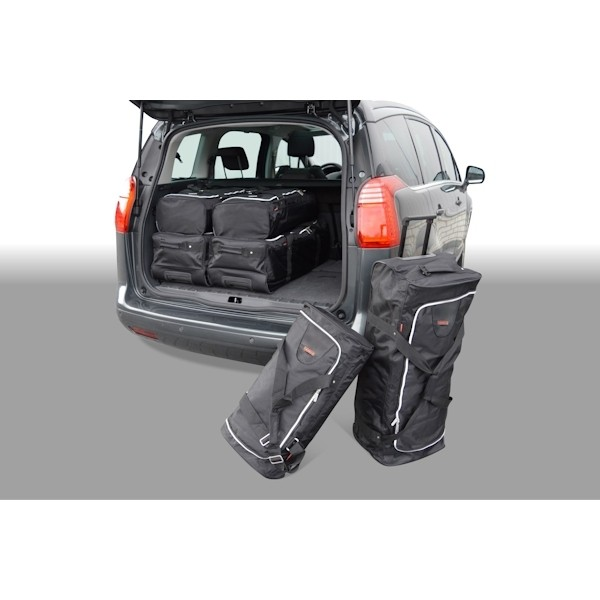 Car Bags P10601S Peugeot 5008 MPV Bj. 09-17 Reisetaschen Set