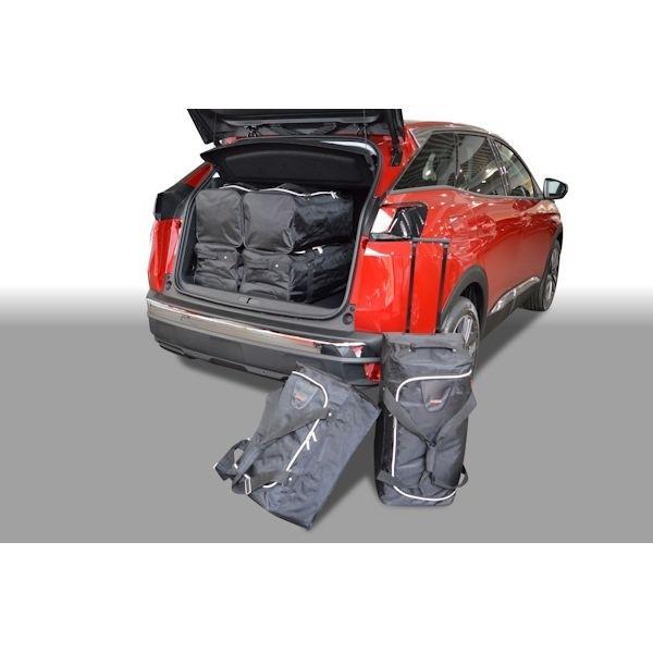 Car Bags P11401S PEUGEOT 3008 II verstellb. Ladeboden in unterster Pos. Bj. 16- Reisetaschen Set