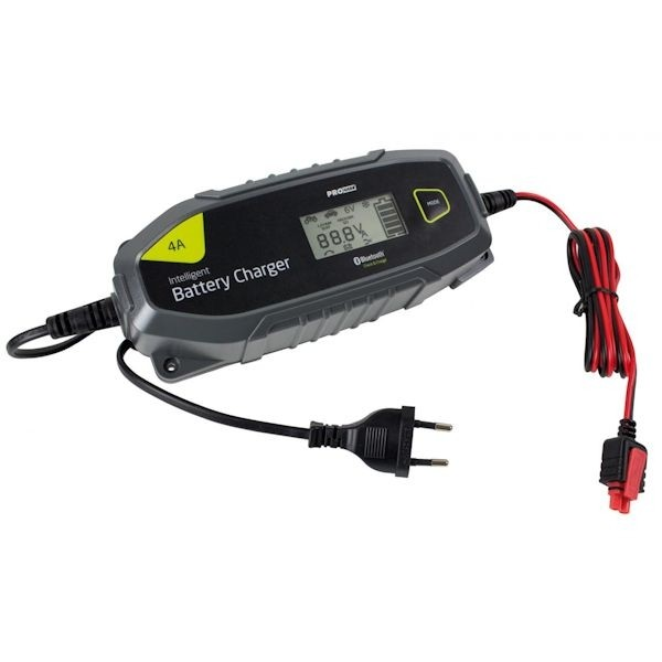 PRO USER IBC 4000B Ladegerät Mikroprozessor Bluetooth 4A 18172