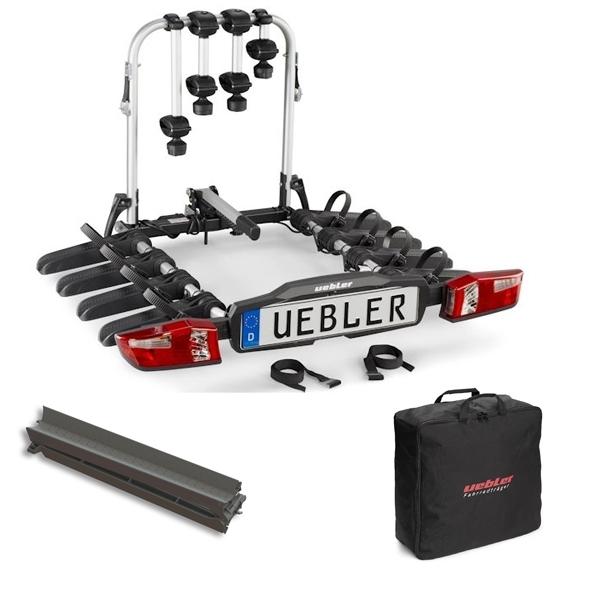 UEBLER F42 Fahrradträger 15840 4 Räder faltbar inkl. Tasche und Auffahrschiene