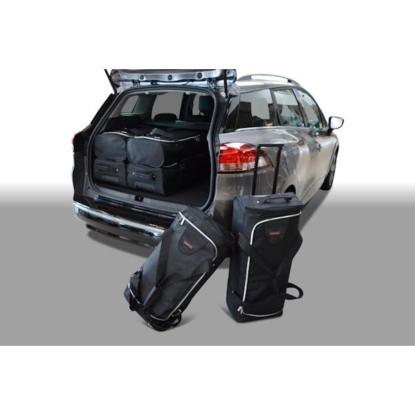Car Bags R10601S Renault Clio IV Estate / Grandtour Bj. 13- Reisetaschen Set