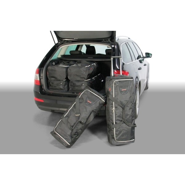 Car Bags S50501S Skoda Octavia Kombi Bj. 13-20 Reisetaschen Set