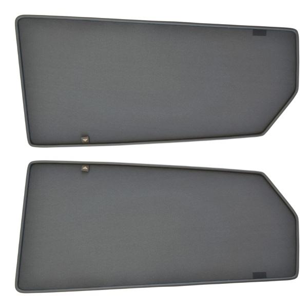 Sonnenschutz Türen hinten Magnetisch Nissan Qashqai J11 2013-2017 Trokot NIS-0651-02
