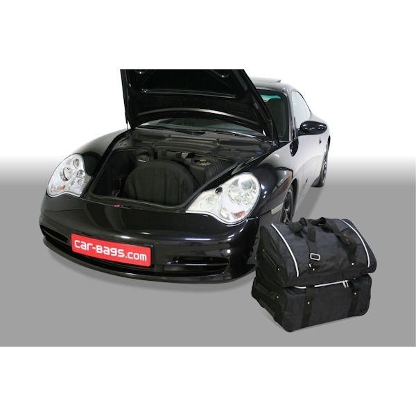 Car Bags P20801S PORSCHE 911 (Typ 996) Coupe / Cabrio Bj. 97-06 m. CD-Wechsler Reisetaschen Set