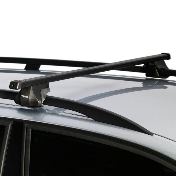 Dachträger Peugeot 407 SW 5-T Kombi 04- Reling THULE Stahl 784