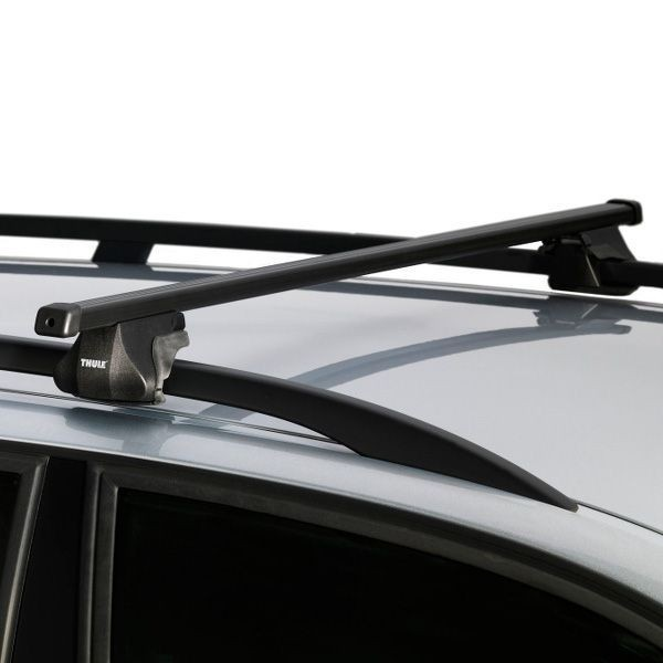 Dachträger Chrysler Grand Voyager 5-T MPV 96-05 Reling THULE Stahl 784