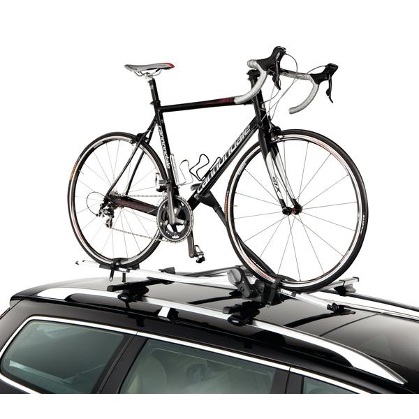 thule 598 proride fahrradtr ger dach schwarz thule 591. Black Bedroom Furniture Sets. Home Design Ideas