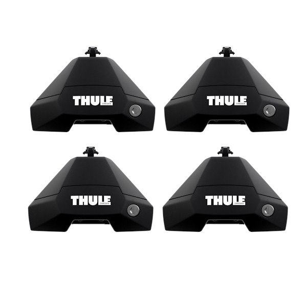 THULE 7105 Evo Clamp Fußsätze für Dachträger Normaldach