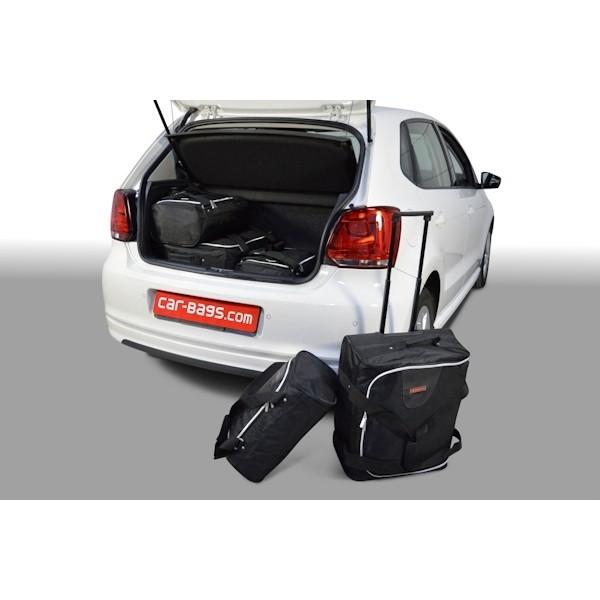Car Bags V12401S VW Polo V (6R & 6C) Bj. 09-17 Ladeboden Position unten - Reisetaschen Set (L)