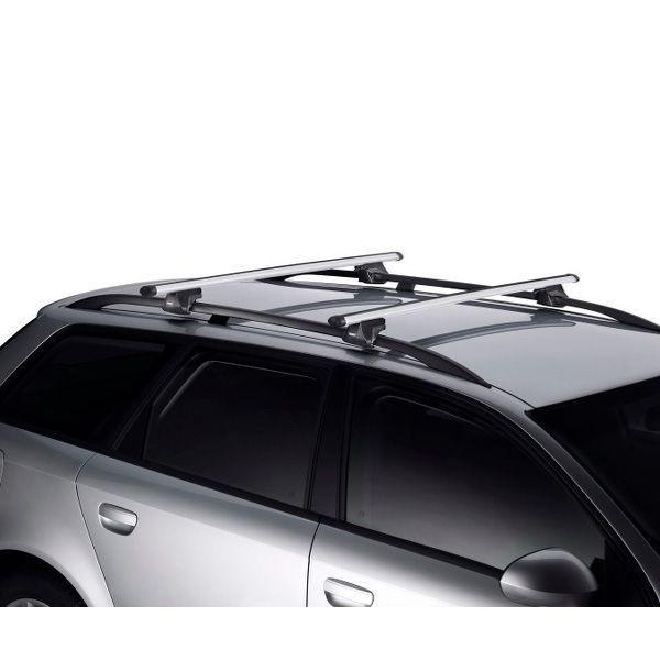 Dachträger Audi A6 Allroad 5-T Kombi 00-06 Reling THULE Alu 794