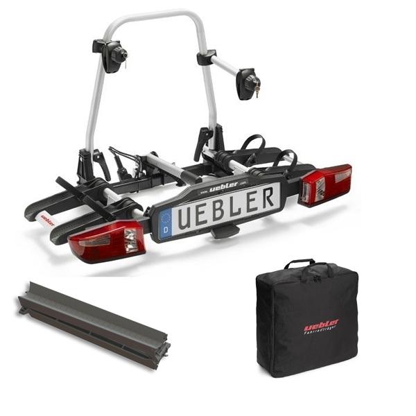 UEBLER X21 S Fahrradträger 15760 2 Räder faltbar inkl. Tasche und Auffahrschiene
