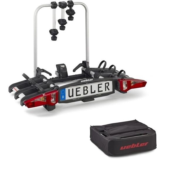 UEBLER i31 Fahrradträger 15910DC 3 Räder faltbar Rückfahrkontrolle inkl. Tasche