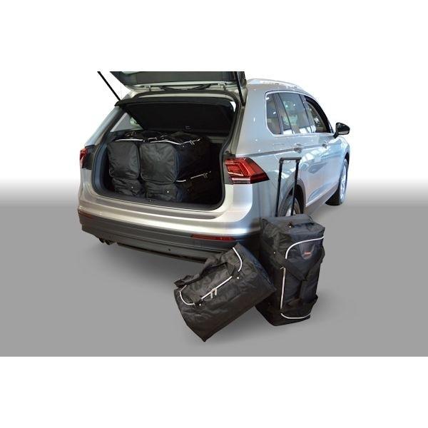Car Bags V12701S VW Tiguan SUV Bj. 15- tiefer Ladeboden - Reisetaschen Set