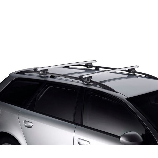 Dachträger Nissan Qashqai +2 SUV 08-14 Reling THULE Alu 795