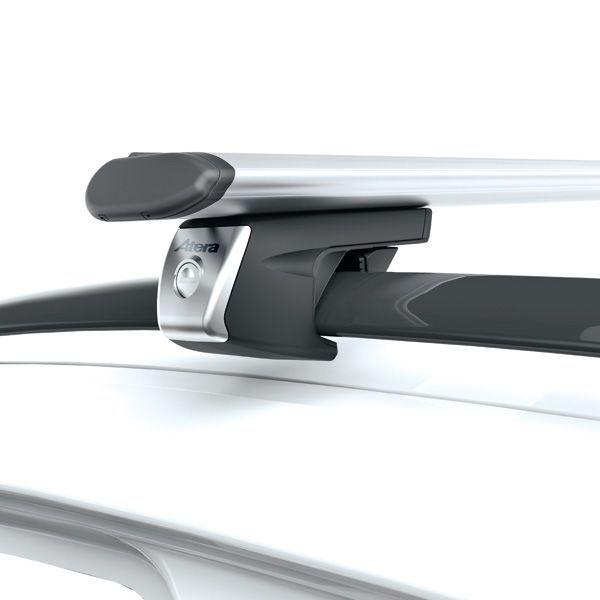 Dachträger Mazda 5 5-T MPV 04- Reling ATERA Alu Aero