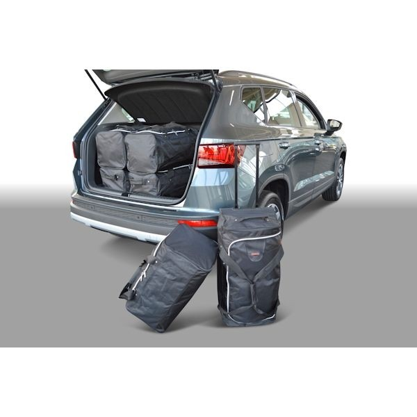 Car Bags S30801S Seat Ateca 2016- hoher Ladeboden - Reisetaschen Set