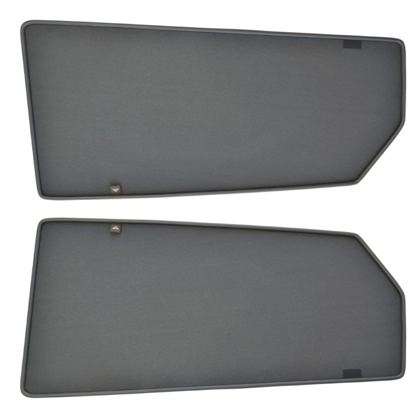 Sonnenschutz Türen hinten Magnetisch Mercedes C-Klasse W205 4-Türer 2014- Trokot MB-0686-02