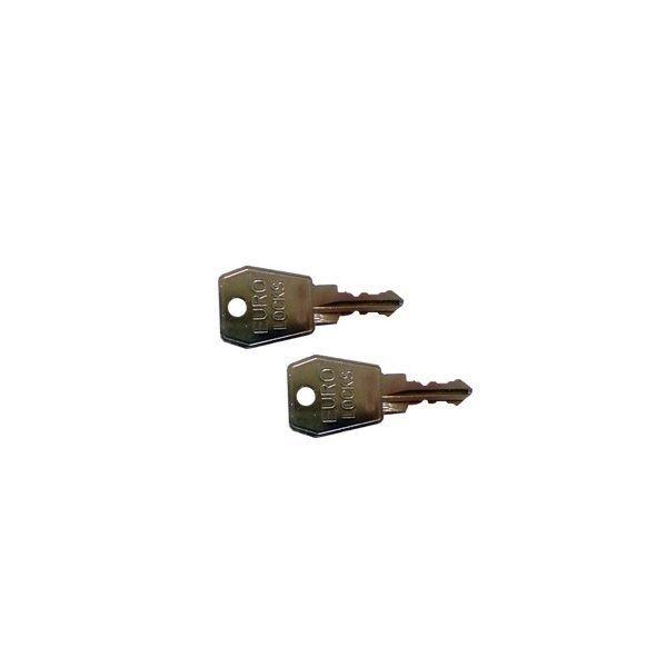 KAMEI 52589 Schlüssel für Dachbox 1 Paar Schlüssel-Nr. 007