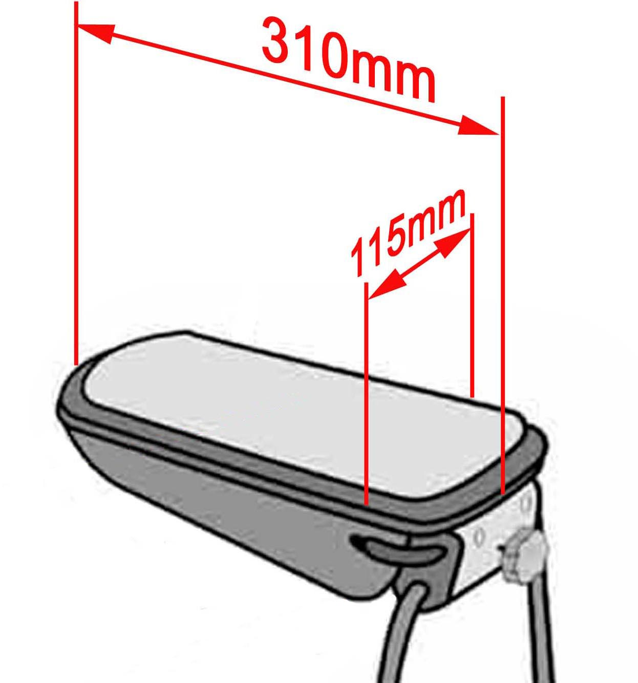 mittelarmlehne hyundai i30 stoff schwarz kamei armlehne. Black Bedroom Furniture Sets. Home Design Ideas